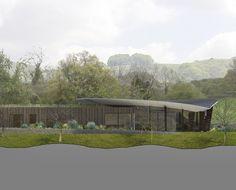 Headlands. Garden view. Contemporary Architecture. Hawkes. NPPF 55.