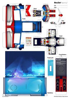 Pour les aficionados de Gundam et autres robots humanoides, voici le BoxZet RX-78-2 designé par le talentueux Bymanstudio. Un kit qui contient comme d'habitude le personnage (en l'occurrence un robot), son véhicule, et le fameux coffret de présentation. Bienvenu dansLire la suiteBoxZet RX-78-2 Gundam de Bymanstudio