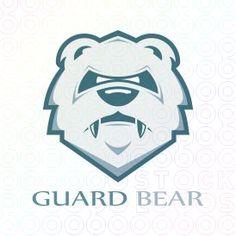 Guard+Bear+logo+animals+security+protection+sports                              …