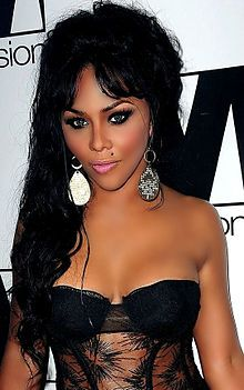 Lil' Kim (born New York City, New York), lives in Alpine