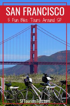 Spend the day exploring San Francisco on one of these 5 fun tours. You can cruise across the Golden Gate Bridge, ride around town, or sample locals brews along the way. San Francisco Attractions, San Francisco Tours, California Travel, Southern California, Travel Itinerary Template, Travel Usa, Travel Tips, Cruise Destinations, North Coast