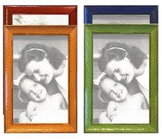 Made to Displays 5x7 or 4x6 Matted Photos Ready to Hang or Stand with Built in Easel Sage Blue 5x7 Sage Blue Wood Picture Photo Frame