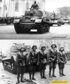 Turán és Nimród harcjárművek Jászberény fő utcáján. Tank Destroyer, War Dogs, Defence Force, Panzer, Armored Vehicles, World War Ii, Romania, Military Vehicles, Ww2
