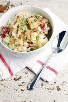 A Lighter Take on German Potato Salad!
