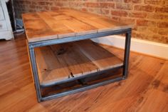 Steel and Reclaimed Wood Furniture | Reclaimed Wood + Salvaged Steel Industrial Furniture | Yesterday ...