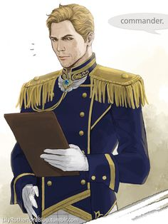 Cullen in some uniform. by LilyRutherford
