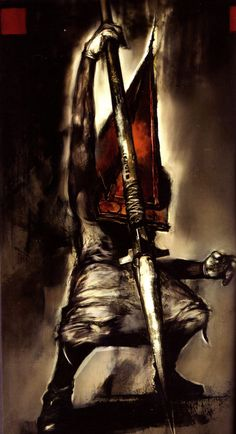 Pyramid Head Red Pyramid, Pyramid Head, Silent Hill 2, Predator Alien, The Evil Within, King Of Fighters, Dark Souls, Girl Gamer, Horror