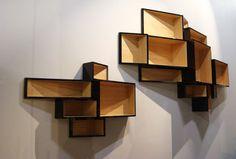 Interesting Display Shelves