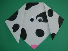 Adorable origami craft for little kids