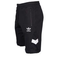 adidas Originals White & Black Shorts - Men's - Black / White