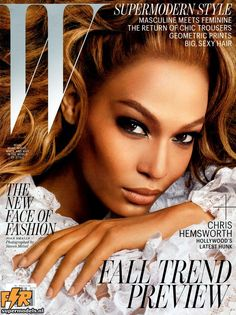 W July 2012 - Joan Smalls (Photographed by Steven Meisel)