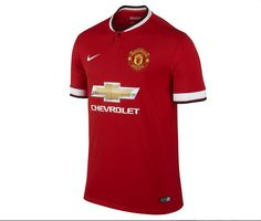 aeaefdb8b Manchester United 2014 2015 Home Jersey Football Kits