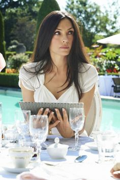 Famke Janssen in 'Hemlock Grove'