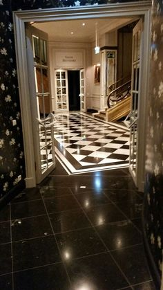historic hotel foyer shines again Hotel Foyer, Sparkling Drinks, Stone Flooring, Stairs, Home Decor, Stairway, Decoration Home, Room Decor, Staircases
