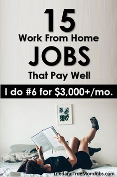 Do you want to find a way to make money from home? If so, you have to check out these work from home jobs. In this article you can see how much each job pays and how you can get started. Make money from home Work From Home Opportunities, Work From Home Jobs, Internet Jobs From Home, Typing Jobs From Home, Working Two Jobs, Online Jobs From Home, Business Opportunities, Earn Money From Home, Way To Make Money
