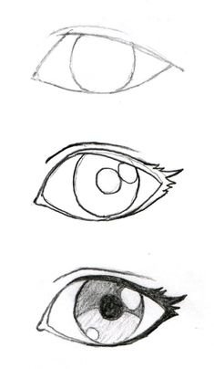 Some good eyelash info! JohnnyBro's How To Draw Manga: Drawing Manga Ey. Some good eyelash info! JohnnyBro's How To Draw Manga: Drawing Manga Eyes (Part I) - Drawing Techniques, Drawing Tips, Drawing Reference, Drawing Sketches, Sketching, Drawing Drawing, Eye Sketch, Eye Drawing Simple, Realistic Eye Drawing