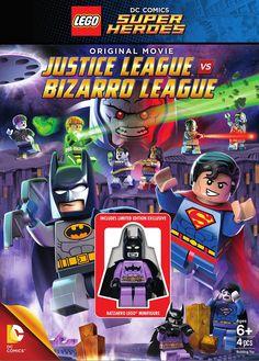 LEGO: DC Comics Super Heroes: Justice League vs. Bizarro League (DVD)