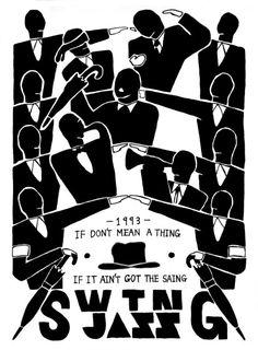 Swing jazz (1993) Swing Jazz, Jazz Poster, Posters, Logo, Inspiration, Biblical Inspiration, Logos, Poster, Billboard