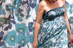 Diy : une robe bustier pour femme enceinte (ou pas)