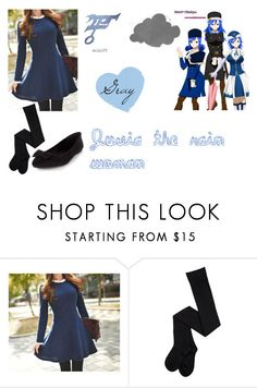 """""""juvia"""" by tmntlover2003 ❤ liked on Polyvore featuring Queen Bee"""