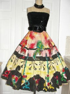 1950's Mexican Circle Skirt