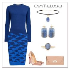 """""""Own the Looks"""" by karen-galves ❤ liked on Polyvore featuring Rumour London, Christian Louboutin and Annette Ferdinandsen"""