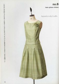 Japanese Sewing Pattern Book for Women by JapanLovelyCrafts