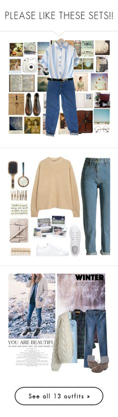 """PLEASE LIKE THESE SETS!!"" by enjolras1832 ❤ liked on Polyvore featuring Pottery Barn, Brika, Polaroid, Urban Outfitters, Wallflower, Band of Outsiders, Fujifilm, Royce Leather, Plane and Hidesign"
