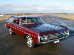 1970 Dodge Polara Station Wagon
