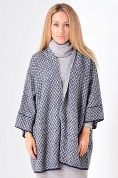 Virum Knit Open Cardigan in Navy Open Cardigan, Knitwear, Raincoat, Valentines, Navy, Knitting, Jackets, Women, Fashion