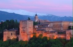 The Alhambra Granada Andalusia Spain