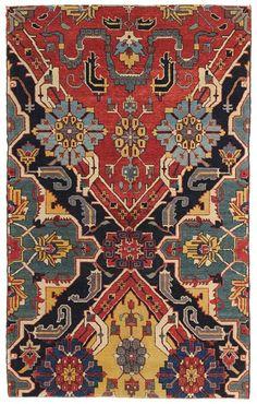 Karabagh Fragment Design Rug via Landry & Arcari