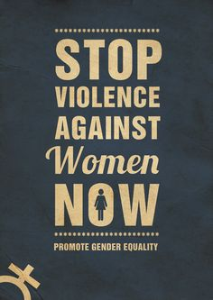 Stop violence - poster