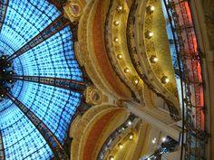 Les Galeries Lafayette (cúpula) - Paris