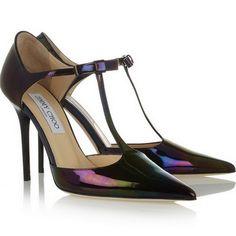 Jimmy Choo: Zapatos de charol 'Twain'