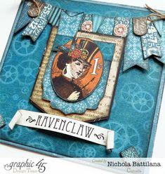 "Hogwarts house cards ""Ravenclaw"" - Nichola Battilana"