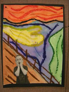 In Art class, third graders learned about the artist Edvar Munch (pronounced Monk) and his famous painting The Scream. Students learned why ...