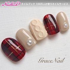 I put my nail polish like a pro! - My Nails Plaid Nails, Red Nails, Hair And Nails, Xmas Nails, Christmas Nails, Love Nails, Pretty Nails, Nails 2017, Classic Nails
