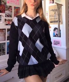 Indie Outfits, Retro Outfits, Cute Casual Outfits, Vintage Outfits, Fashion Outfits, Girly Outfits, Good Outfits, Preppy Girl Outfits, Preppy Outfits For School