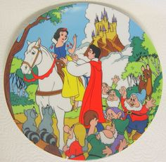 Details about Disney Plate Snow White and the Seven Dwarfs Happily Ever After 5319  sc 1 st  Pinterest & Snow White Paper Plates 23cm | Paper and Snow