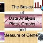 This teacher guide will assist the teacher and your students with the basics of plots and graphs related to data analysis. Measures of center w...
