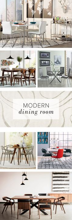 Is your dining room in need of a refresh? Whether you need a new table, dining chairs, bar stools or a statement pendant light, AllModern has everything you need for a fresh, chic update. Visit AllModern today and sign up for exclusive access to sales plus FREE SHIPPING on orders over $49.