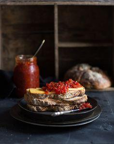 red pepper & chilli jam