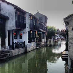 The historical water village, included in World Cultural Heritage Candidate List by UNESCO
