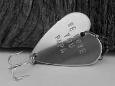 Love You Papa Happy Fathers Day Dad Gift for di CandTCustomLures