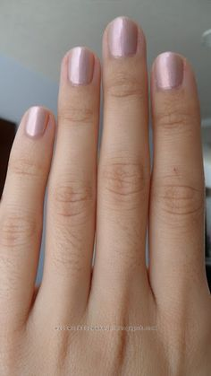 Rimmel Lasting Finish Pro nail polish in Crushed Pearl is a metallic, pink pearl shade with somewhat of a pale pink-lilac duochrome