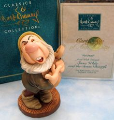 """WDCC 'Sneezy' ~ """"Ah-choo!"""" Snow White and the Seven Dwarfs Retired Vintage Collectible, Walt Disney Classics Collection"""