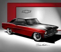 black on black cherry two tone paint idea for the dodge Two Tone Paint, Chevy Nova, Body Mods, Custom Cars, Classic Cars, Artwork, Black, Dodge, Cherry