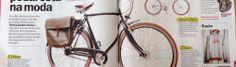 artigo da TimeOut Porto de março de 2014. Bike Brands, Bicycle, Retro, City, Bicycles, Bike, Bicycle Kick, Cities, Retro Illustration