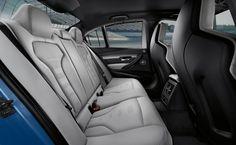 The BMW M3 Sedan with full fine-grain Merino leather in Silverstone